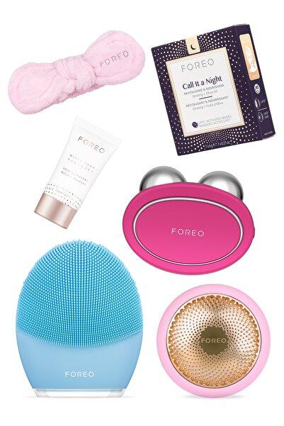 FOREO Bear™ + Ufo™ 2 + Luna™ 3 + Call It A Night Maske + Cleanser (20 ml) + Headband