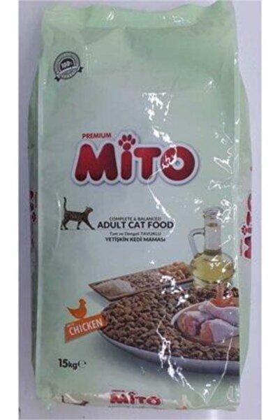 Mito Tavuklu 15 Kg Yetişkin Kedi Maması Adult Orjinal Paket