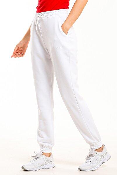 Slazenger BENEFIT Kadın Eşofman Altı Beyaz