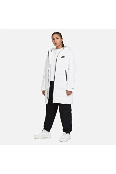 Nike W Nsw Tf Rpl Classıc Hd Parka Kadın Beyaz Ceket - Dj6999-100