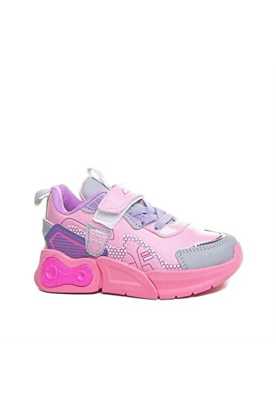 Callion Kız Çocuk Pudra Pembe Sneaker Çocuk Sneace
