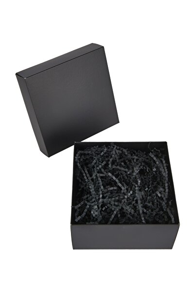 HEDİYEDİYE Boş Siyah Renk Hediye Kutusu