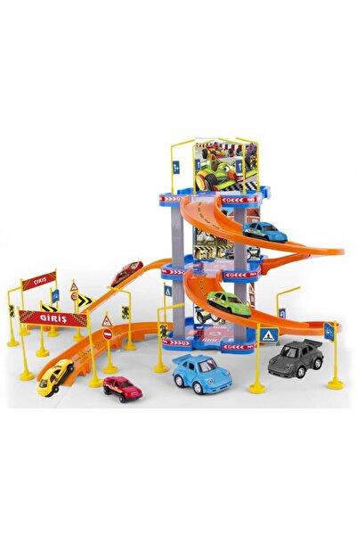 Erdem Oyuncak Günün Fırsatı Parking Garage Play Set 3 Katlı Oyuncak Otopark Garaj Seti 2 Araç Dahil Aksesuarlı