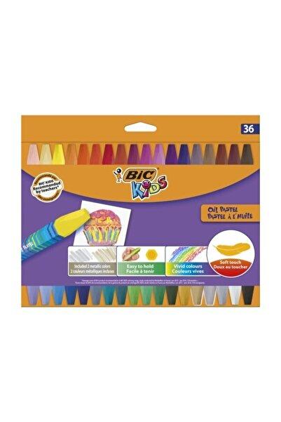Bic .yağlı Pastel Boya 36'lı Kutu