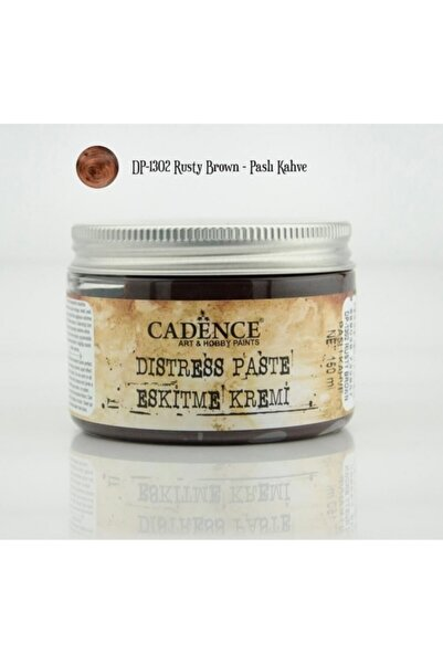 Cadence Distress Paste Eskitme Kremi 150 ml. 1302 Paslı Kahve
