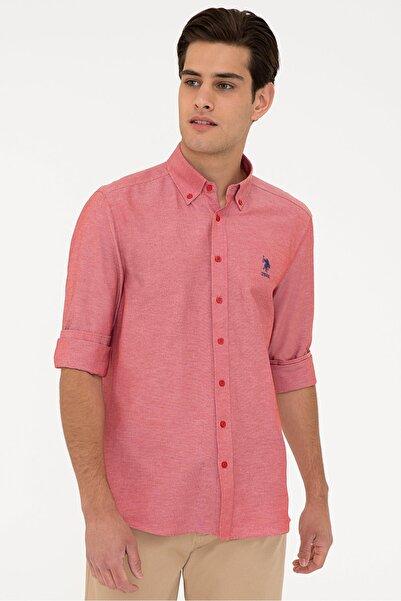 U.S. Polo Assn. Kırmızı Erkek Gömlek
