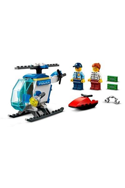 LEGO Desı City Polis Helikopteri Yapım Seti 60275