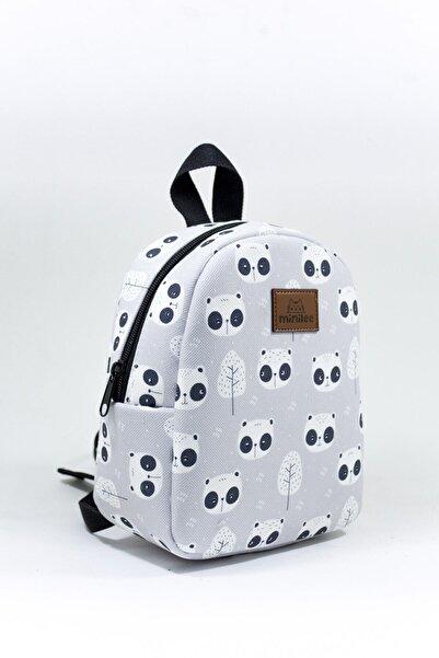 Minilee Şaşkın Panda 0-8 Yaş Kreş Anaokulu Çocuk Sırt Çantası