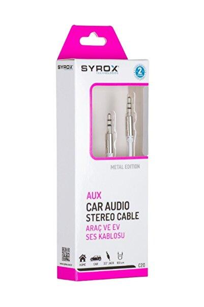 Syrox C20 Aux Araç Ve Ev Ses Kablosu