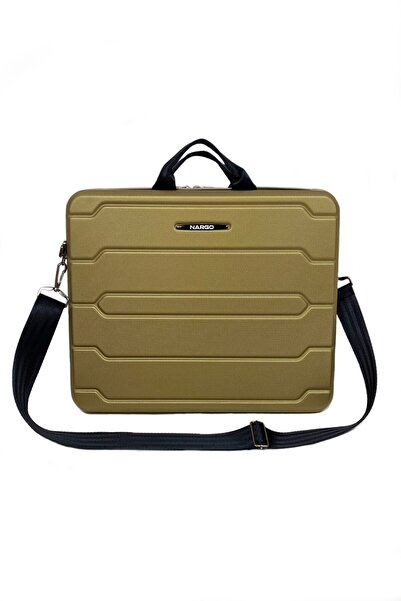 MİSSDURU 15.6 Inç Notebook Laptop Evrak Çantası - Süper Gold ( 42x31x9.5cm )
