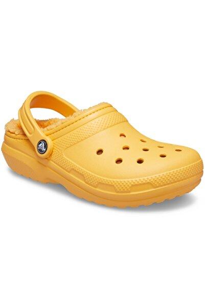 Crocs Classic Lined Clog Turuncu Kadın Terlik