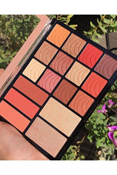 AİLY COSMETİCS Lumınıce Model 17'li Makyaj Paleti - Eyeshadow & Blusher & Hıghlıght Palette