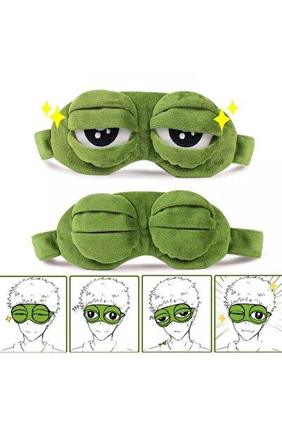 Köstebek 3d Kurbağa Uyku Bandı Uyku Maskesi