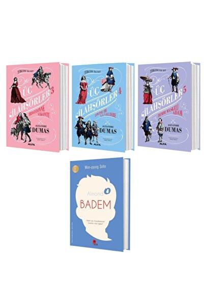 Alfa Yayınları Alexandre Dumas – 3 -4 -5 Ödüllü Badem Kitabı Hediyeli
