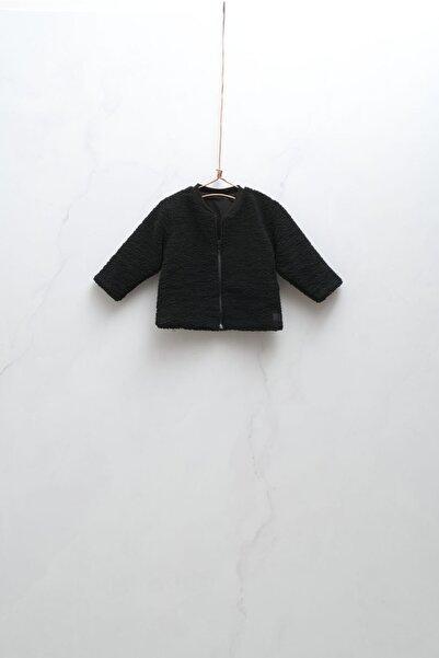 Moi Noi Black Peluş Çocuk Ceket