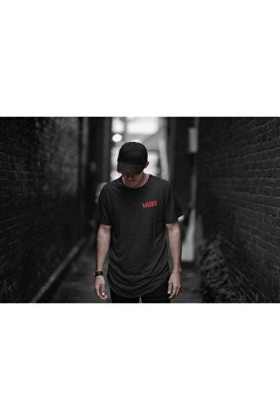 Vans (6)- Unisex Siyah Oversize T-shirt