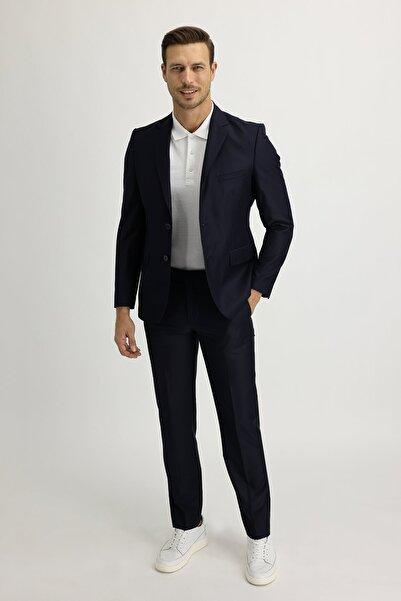 Kiğılı Slim Fit Takım Elbise