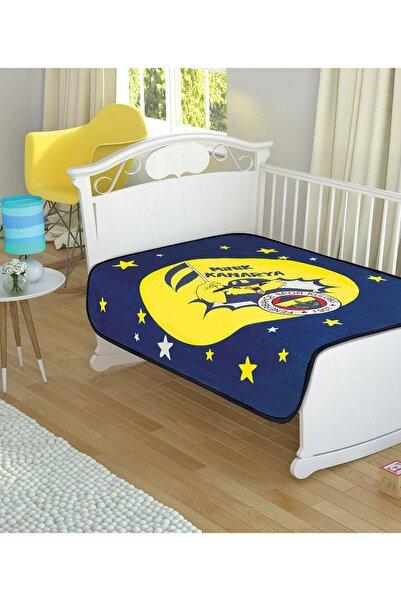 TAÇ KRİSTAL Lisanslı Fenerbahçe Star Baby Bebek Battaniyesi 100x120