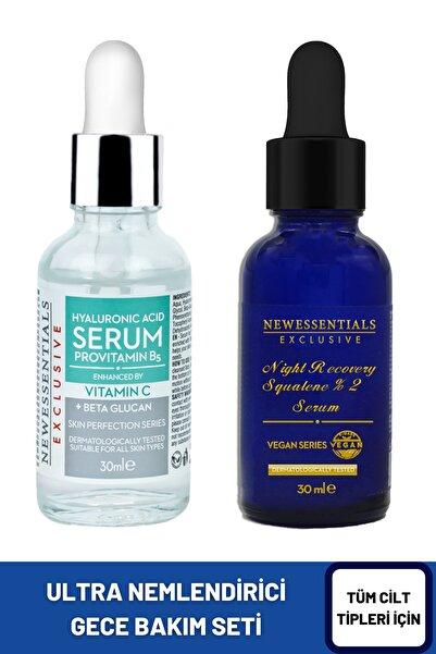 New Essentials 2 Li Set Hyaluronic Acid Hücre Yenileyici Nemlendirici Gece Bakım Seti