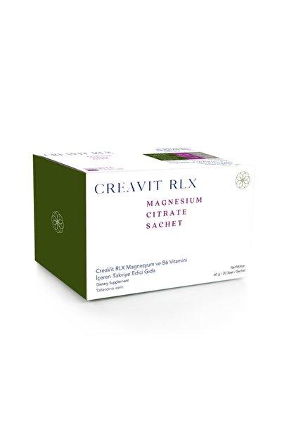 Creavit Rlx Magnesium B6 Vitamini 20 Saşe