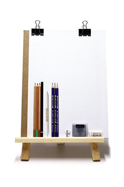 GLANCE Karakalem Eskiz Çizim Seti Masaüstü Şövale Duralit Kömür Kalem Dağıtıcı Kalem