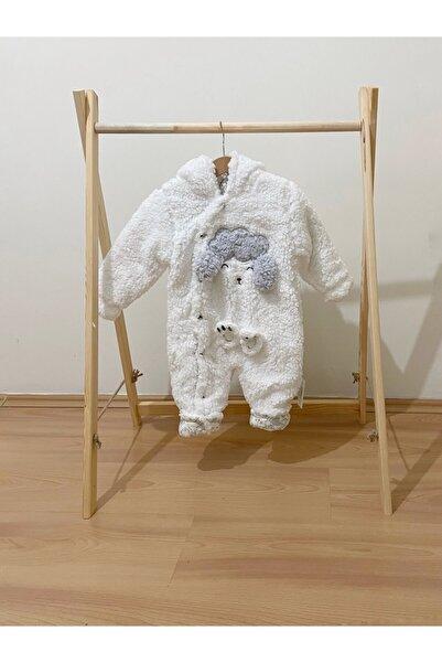 Boel Baby Welsoft Kuzu Nakışlı Astronot Tulum