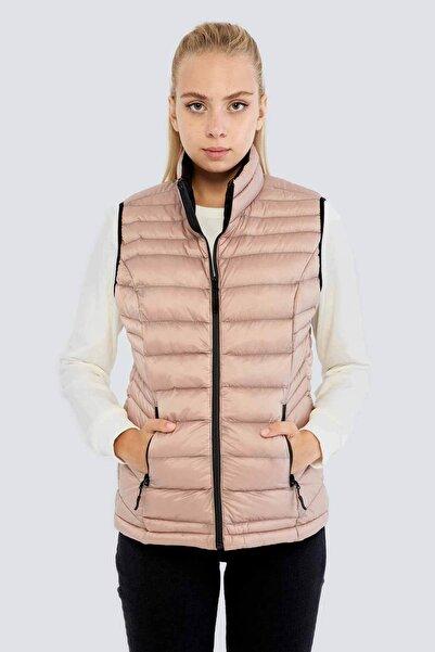 Fashion Friends Bayan Şişme Yelek Pudra- 21k0453k1