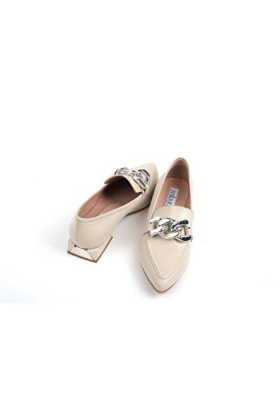Milaura 20004 Kadın Deri Loafer