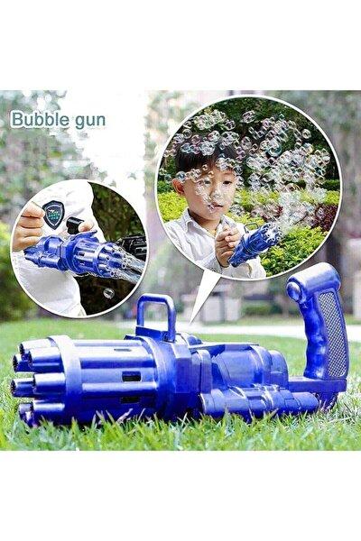 Miajima Pilli Köpüklü Oyuncak Köpük Makinesi Tabancası Bubble Machine +baloncuk Likitli