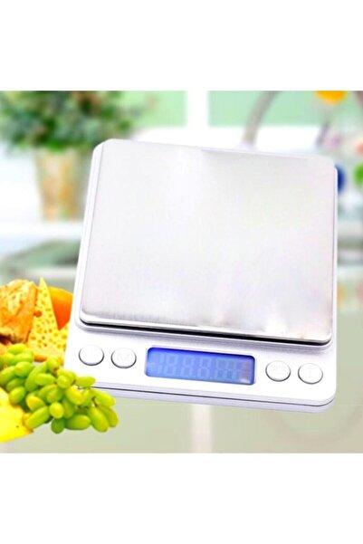 firsatgeldi Elektronik 3 Kg Kapasiteli Dijital Hassas Kantar Mutfak Tartısı Terazi