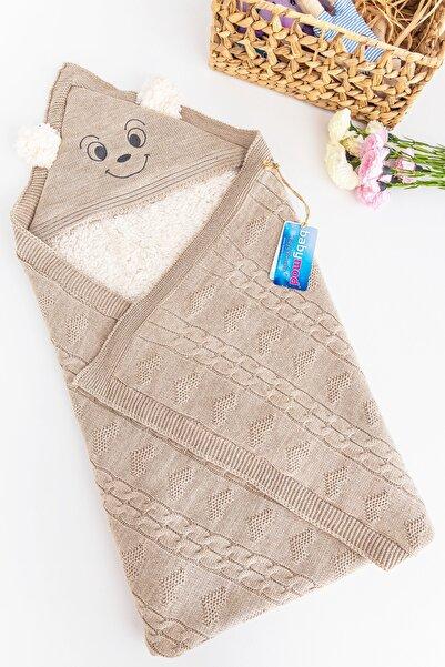 Babymod Figürlü Içi Peluş Triko Bebek Battaniye Bebek Kundak