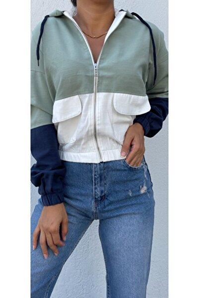 The Ness Collection Renkli Kısa Ceket