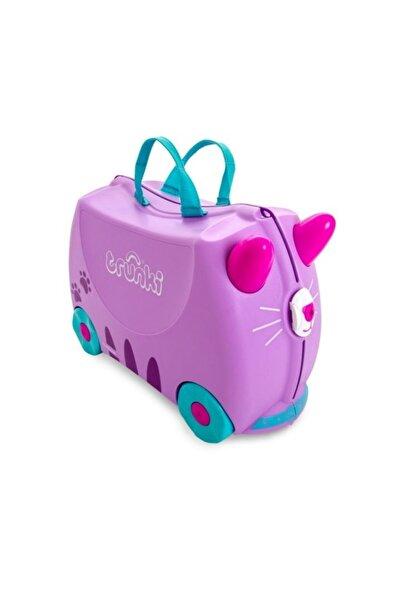 Trunki Binilebilen Çocuk Bavulu - Kedi Cassie