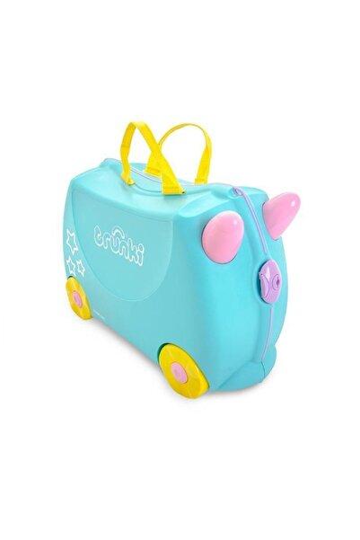 Trunki Tekerlekli Binilebilir Çocuk Bavulu - Una The Unicorn