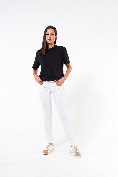 FINGER PRINT Yüksek Bel Normal Kesim Non-denim Kadın Pantolon