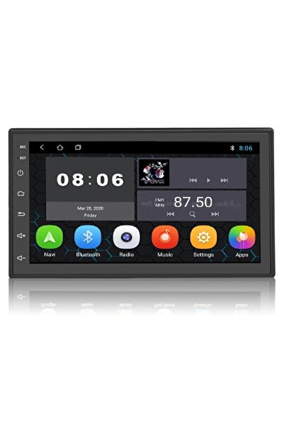 """Navigold Ds519 2gb Ram 7"""" Android 9.0 Multimedia Double Teyp"""