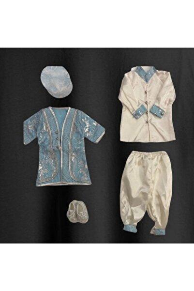 prince baby Erkek Bebek Mevlüt Takımı Sünnet Kıyafeti