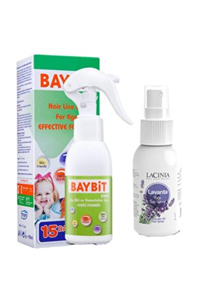 BAYBİT Saç Biti Bit Spreyi 200 ml (ÇELİK TARAKLI) Lacinia Lavanta Yağlı Bit Kovucu Sprey 50 ml