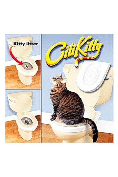 Zzn Citi Kitty Kedi Kumu Tuvaleti Açık Klozet Alıştırma Eğitim Seti