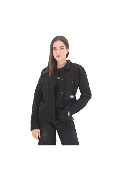 Vans 0a5ar6blk1-r Wm Clark Jacket Kadın Ceket Siyah
