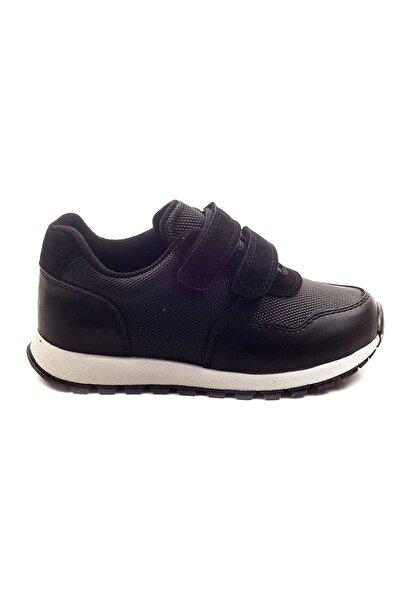 Minipicco Erkek Cocuk Siyah Ortopedik Destekli Ayakkabı