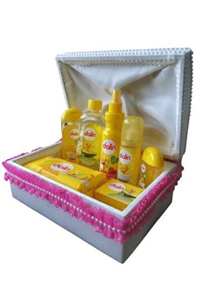 SABMAR Bebek Bakım Seti Baby Shower Bebek Sandığı Kız 2027006