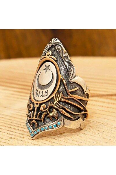 Senin Silver Sultan Serisi Ayarlanabilir Zihgir Gümüş Erkek Yüzük