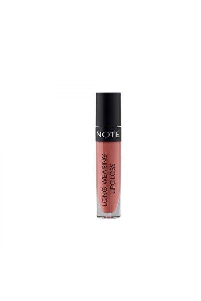 NOTE Long Wearing Lip Gloss Parlak Bitişli 05 Cream Cup