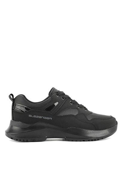 Slazenger KAREN Sneaker Kadın Ayakkabı Siyah / Siyah