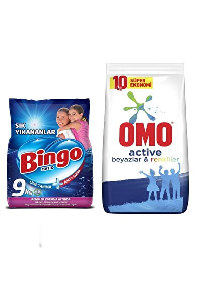 Bingo Matik Sık Yıkananlar 9kg + Matik Beyazlar Ve Renkliler 10kg