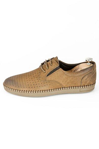 DeepSEA Erkek Taba Bağcıklı Deri Ayakkabı 2001802