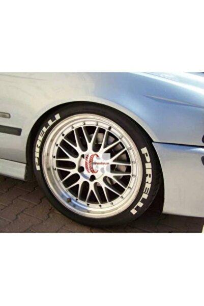 Pirelli Lastik Yazısı 8xli Set Pırellı 1.sınıf Kalite Solmaz Araç Motorsiklet Lastik Stiker Etiket