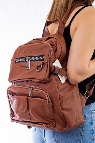 Limoya Bags Sally Taba Kadın Sırt Çantası
