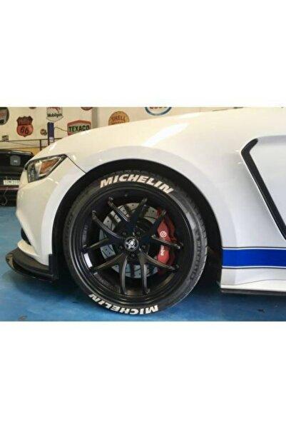 Michelin Lastik Yazısı 8x Mıchelın Orijinal 1.sınıf Kalite Solmaz Araç Motorsiklet Yazı Stiker Seti